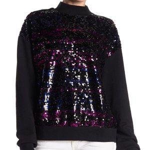 NEW!Last Dance Sequined Women's Turtleneck Sweater